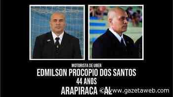 Motorista por aplicativo desaparece e é procurado em Arapiraca - Gazetaweb.com
