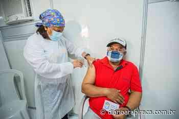 Vacina Covid: Cerca de 40% da população adulta de Arapiraca já recebeu a 1ª dose - Diário Arapiraca