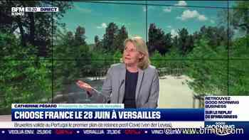 Le Château de Versailles va bénéficier d'un don à titre personnel du patron de Snapchat - BFMTV