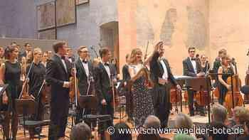 Konzert in St. Georgen - Rotary-Jugendsinfonieorchester spielt - Schwarzwälder Bote
