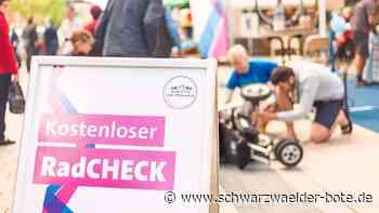 Radfahren in Villingen-Schwenningen - Kostenlos das Bike prüfen lassen - Schwarzwälder Bote
