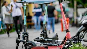 Verleihfirmen sollen sich um schrottreife E-Roller kümmern