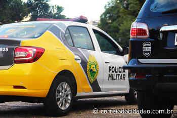 Motorista bate em muro de casa no bairro Morro Alto, em Guarapuava – Correio do Cidadão - Correio do CIdadão