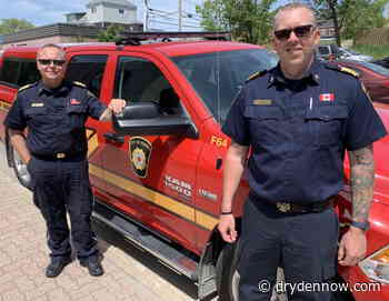 New Kenora Fire Chief on the job - DrydenNow.com