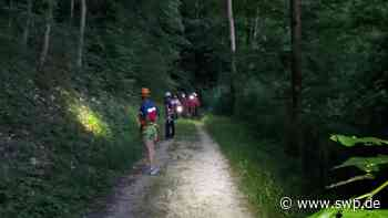 Motorradunfall in Geislingen: Unfall auf Weiler Steige endet tödlich – Bergwacht sucht Waldhang ab - SWP