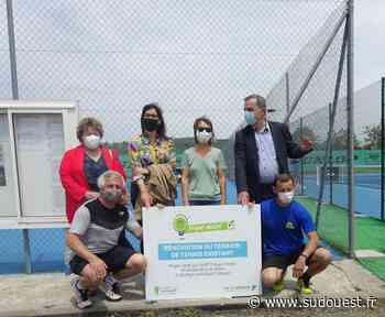 Saint-Hilaire-de-Lusignan : L'ASPTT section Tennis prend possession de deux courts - Sud Ouest