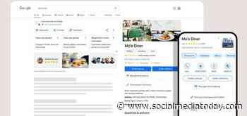 Google Adds New Listing Options for Business Profiles, Including Services, Bookings and Streamlined Catalog Upload - Social Media Today