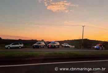 Moradores relatam o drama com o fechamento da estrada Terra Roxa - CBN Maringá
