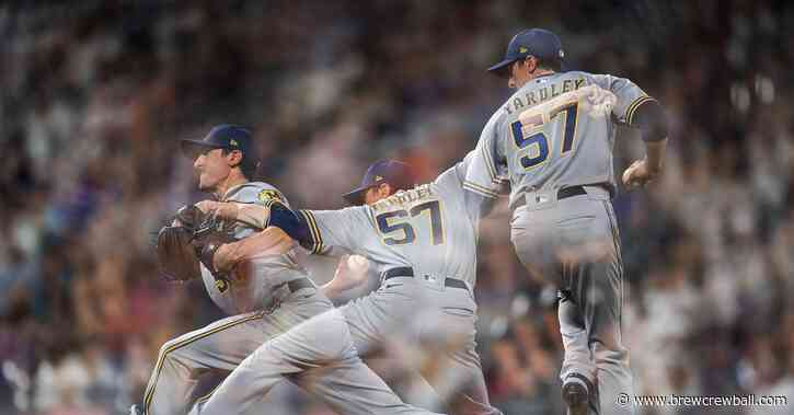 Another grand slam costs the Brewers as they lose game one in Colorado, 7-3