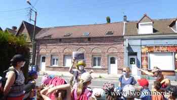 Roost-Warendin : balade patrimoine local pour tous les élèves de l'école primaire du centre - La Voix du Nord