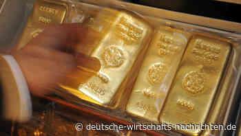 Schnäppchenjäger treiben den Goldpreis nach Preisrutsch in die Höhe