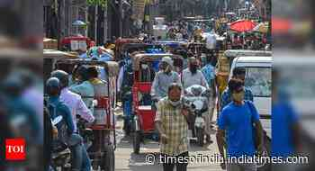 Coronavirus live updates: Case positivity below 5% in 513 districts, says govt - Times of India
