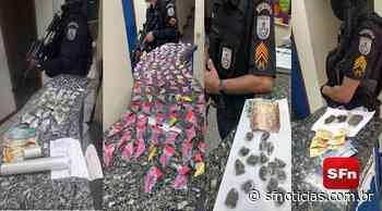 PM apreende cocaína, maconha e material do tráfico em Aperibé, Itaocara, Miracema e Pádua - SF Notícias
