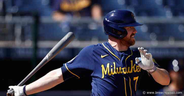Milwaukee Brewers activate Derek Fisher from Injured List, option Tim Lopes