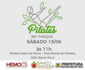 Pilates no Parque abre inscrições para nova turma em Caxias do Sul - Revista News