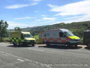 Woman rescued by Oldham Mountain Rescue Team after injuring leg - theoldhamtimes.co.uk