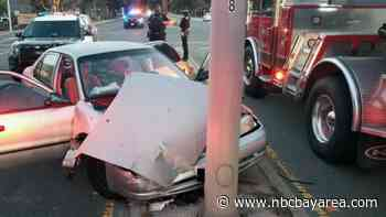 Mother Arrested in San Bruno After Suspected DUI Crash Injures Her Two Kids - NBC Bay Area