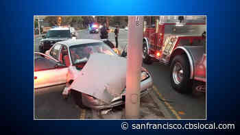 Mother Accused Of DUI, Resisting Arrest Following Crash In San Bruno - CBS San Francisco