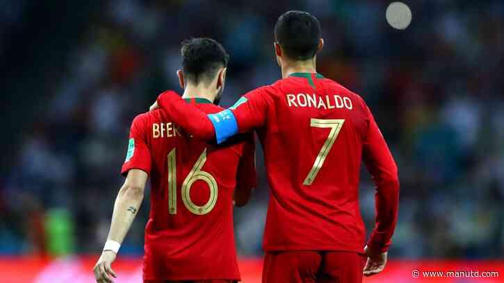 Bruno Fernandes: Ronaldo, set-pieces and me - Manchester United