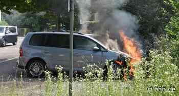 Flammen aus dem Motorraum: Fahrzeug-Brand in Baden-Baden - BNN - Badische Neueste Nachrichten