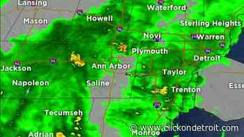 Metro Detroit Weather: Tracking storms Friday morning - WDIV ClickOnDetroit
