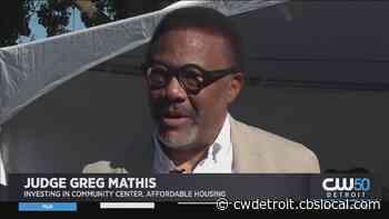 Judge Greg Mathis To Build New Community Center, Affordable Housing On Detroit's Westside - CBS Detroit