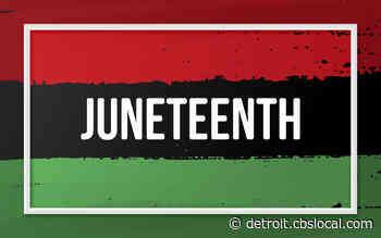 2 Detroit Women Partner To Celebrate, Provide Resources At Juneteenth Event - CBS Detroit