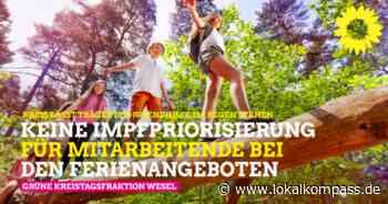 Kreis lässt Träger der Kinder- und Jugendhilfe im Regen stehen: Keine Impfpriorisierung für Mitarbeitende bei den Ferienangeboten - Lokalkompass.de