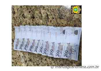 PRF prende trio que tentou pagar pedágio com dinheiro falso - Mandaguari Online