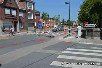 Verkeersregeling in dorp Sleidinge opnieuw in beide richtingen