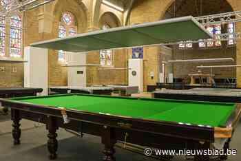 Kapel omgevormd tot snooker- en dartszaal - Het Nieuwsblad