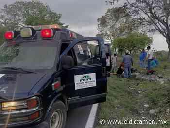 Joven se lesiona la pierna tras caer de su motocicleta en Actopan - El Dictamen