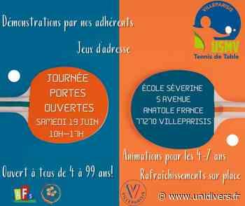 Journée portes ouvertes tennis de table École élémentaire Séverine - Unidivers