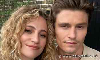Pixie Lott gushes over fiancé Oliver Cheshire as they cuddle up in sweet new snap - Daily Mail