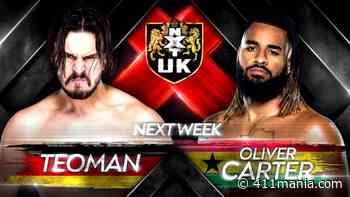 NXT UK Sets Triple Threat Match & Teoman vs. Oliver Carter for Next Week - 411mania.com