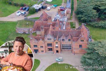 Jamie Oliver is planning lavish refurbishment to his SERVANTS' quarters at huge £6m 12 bed Essex mansion... - The Sun
