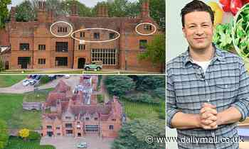 Jamie Oliver applies for permission to upgrade servants' quarters and add bedrooms to Essex mansion - Daily Mail