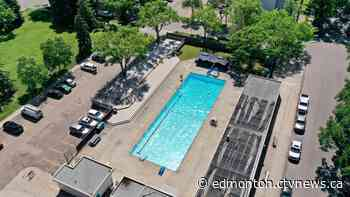 Edmonton's Oliver Outdoor Pool is open again after 3 years of closure - CTV News Edmonton