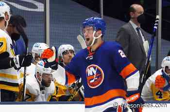 Oliver Wahlstrom's Unlikely To Return To Islanders Lineup Tomorrow - Eyes on Isles