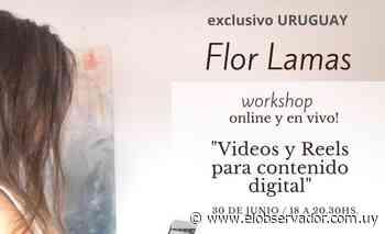 Workshop online - Flor Lamas - El Observador