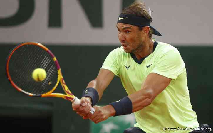 Rafael Nadal: 'Sport prevention of any kind of excess in my body is...'