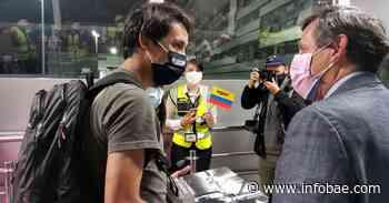 Así fue el recibimiento de Egan Bernal en su llegada a Colombia - infobae
