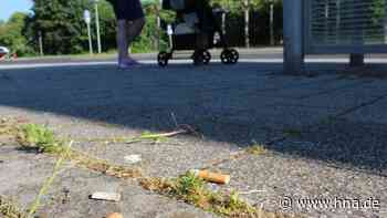 Bad Wildunger sagen Zigarettenkippen in der Stadt den Kampf an - HNA.de
