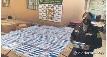 Tumbes: Incautan mascarillas en la línea de frontera - Diario Correo