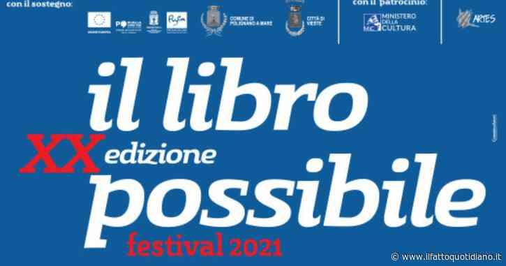 Libro Possibile, la kermesse letteraria compie vent'anni e raddoppia le sue date: appuntamento dal 7 al 30 luglio a Polignano e Vieste