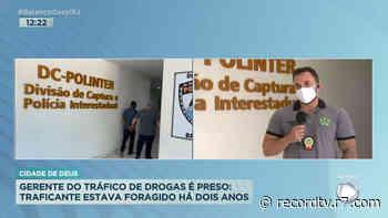 Gerente do tráfico da Cidade de Deus é preso em Mesquita (RJ) - Record TV