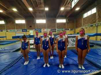 Fano sorride all'asd Ginnastica Riviera dei Fiori - Liguriasport - Liguriasport