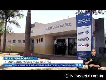 Cristalina, cidade goiana, ganha posto de saúde com telemedicina | Repórter Brasil Tarde | TV Brasil | Cidadania - EBC