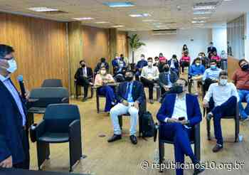 FRB sedia visita de delegação jovem goiana - Agência Republicana de Comunicação (ARCO - Republicanos10)