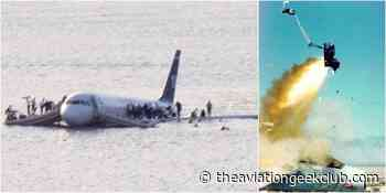 If Chesley Sullenberger's Airbus A320 had ejection seats passengers would have died. Here are 7 reasons why it's impossible to install ejection seats in commercial aircraft. - The Aviation Geek Club - The Aviation Geek Club